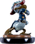 Animation Art:Maquette, Donald Duck Bronze Statue Prototype (Walt Disney, c. 1990s)....