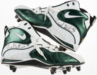 Circa 1997 Frank Winters Game Worn & Signed Cleats