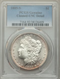 1885-S $1 -- Cleaned -- PCGS Genuine. Unc Details. NGC Census: (100/5166). PCGS Population: (105/9660). CDN: $250 Whsle...