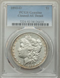 Morgan Dollars, 1893-O $1 -- Cleaned -- PCGS Genuine. AU Details. NGC Census: (161/1773). PCGS Population: (334/2323). CDN: $625 Whsle. Bid...