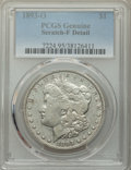 Morgan Dollars, 1893-O $1 -- Scratch -- PCGS Genuine. Fine Details. NGC Census: (140/3125). PCGS Population: (144/4654). CDN: $185 Whsle. B...