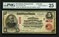 Ebensburg, PA - $5 1902 Red Seal Fr. 587 The American National Bank Ch. # (E)6209 PMG Very Fine 25