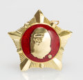 Collectible, BAPE . Medal 2, 2001. Painted cast resin. 1-1/4 inches (3.2 cm) diameter. Produced by A Bathing Ape, Japan. ...