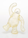 Collectible, Mark Gonzales X Krooked X Thunder Dog. Krooked Shmoo (Clear Variant), 2006. Cast vinyl. 7-1/4 x 7-3/4 x 3 inches (18.4 x...