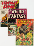 Golden Age (1938-1955):Miscellaneous, Golden Age Comics Group of 16 (Various Publishers, 1947-61...