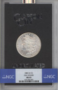 1885-CC $1 GSA MS65 NGC. NGC Census: (1652/385). PCGS Population: (95/52). CDN: $900 Whsle. Bid for problem-free NGC/PCG...