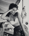 Photographs, Frank Worth (American, 1923-2000). Elizabeth Taylor on the set of Giant, 1955. Digital pigment print, printed later...