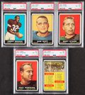 Football Cards:Sets, 1961 Topps Football First Series Complete Set (132).... (Total: 132 items)