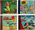 Memorabilia:Disney, Children's Record-Reader Group of 4 (MGM/ Capitol Records, c. 1940s).... (Total: 4 Items)