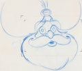 Animation Art:Production Drawing, Aladdin Sultan Animation Drawings Gr...