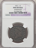 Large Cents, 1812 1C Small Date -- Damaged -- NGC Details. Fine. NGC Census: (14/154). PCGS Population: (19/243). CDN: $400 Whsle. Bid f...