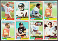 Football Cards:Sets, 1981 Topps Football Complete Set (528)....