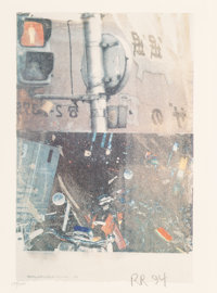 Robert Rauschenberg (1925-2008) Bulkhead (Day Lights), 1994 Offset lithograph in colors on wove pape