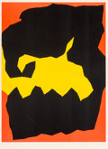 Prints & Multiples, Jack Youngerman (b. 1926). Crunch, 1964. Silkscreen in colors on paper. 18-1/2 x 13-3/4 inches (47 x 34.9 cm) (sheet). F...