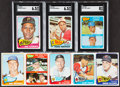 Baseball Cards:Lots, 1965 Topps Baseball Collection (25) Plus 2001 Luis Tiant Autograph Card. ...