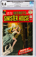 Bronze Age (1970-1979):Horror, Secrets of Sinister House #5 Murphy Anderson File Pedigree (DC, 1972) CGC NM 9.4 White pages....