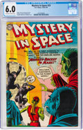 Golden Age (1938-1955):Science Fiction, Mystery in Space #23 (DC, 1955) CGC FN 6.0 Off-white to white pages....
