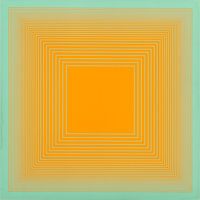 Richard Joseph Anuszkiewicz (b. 1930) Spectral 9 G, 1969 Screenprint in colors on board 19-3/4 x 19-3/4 inches (50.2