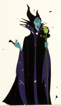 Sleeping Beauty Maleficent Production Cel (Walt Disney, 1959)