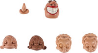 Pepito's Serenade Stop-Motion Character Heads, Studio Photos and Puppet Library cards Group of 99 (John Sutherland Pro...