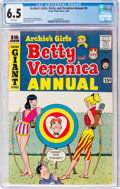 Silver Age (1956-1969):Humor, Archie's Girls Betty and Veronica Annual #8 (Archie, 1960) CGC FN+ 6.5 White pages....
