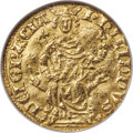 France, France: Philippe IV, the Fair (1285-1314) gold Petit Royal d'Or (Florin d'Or) ND (August 1290) XF40 NGC,...