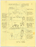 Original Comic Art:Miscellaneous, Mike Baron The Punisher #3 22-Page Complete Story Preliminary Layouts Original Art (Marvel Comics, 1987). ... (Total: 22 Original Art)