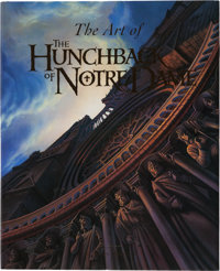 The Art of The Hunchback of Notre Dame First Edition Signed Art Book (Walt Disney/Hyperion, 1996)