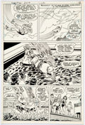 Original Comic Art:Panel Pages, Curt Swan and Frank Chiaramonte Superman #361 Story Page 9 Original Art (DC, 1981)....