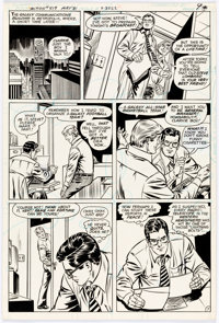 Curt Swan and Frank Chiaramonte Action Comics #519 Story Page 7 Original Art (DC, 1981)