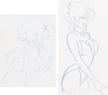 Animation Art:Production Drawing, Cool World Holli Would Animation Dra...