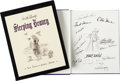 Animation Art:Model Sheet, Walt Disney's Sleeping Beauty: The Sketchbook Series Limited Edition Signed Book (Walt Disney/Applewood Books, 1997)....