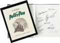 Animation Art:Model Sheet, Walt Disney's Peter Pan: The Sketchbook Series Limited Edition Signed Book (Walt Disney/Applewood Books, 1998)....