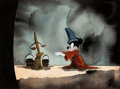 Animation Art:Concept Art, Fantasia Sorcerer's Apprentice Mickey Mouse Concept Painting (Walt Disney, 1940). ...