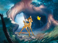 "Animation Art:Limited Edition Cel, ""Moment of Discovery"" Bambi Limited Edition Cel #72/250 (Walt Disney, 2002)...."