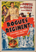 """Movie Posters:Adventure, Rogues' Regiment & Other Lot (Universal International, 1948). Folded, Very Fine-. Australian One Sheets (2) (27"""" X 40""""). Adv... (Total: 2 Items)"""