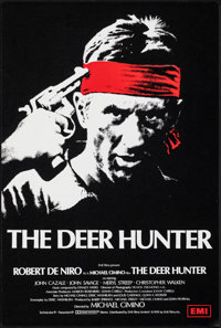 "The Deer Hunter (EMI, 1978). Rolled, Very Fine+. British Double Crown (20"" X 30""). Fred Atkins Artwork. Academ..."
