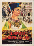 "Movie Posters:Foreign, A Queen for Caesar (CFF, 1963). Folded, Fine+. French Grande (39"" X 55"") Renato Casaro Artwork. Foreign.. ..."