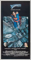 """Movie Posters:Action, Superman the Movie (Warner Bros., 1978). Folded, Very Fine/Near Mint. International Three Sheet (41"""" X 78.75""""). Action.. ..."""