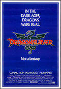 """Movie Posters:Fantasy, Dragonslayer (Paramount, 1981). Rolled, Very Fine-. Poster (16"""" X 23.5""""). Fantasy.. ..."""