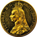 Great Britain, Great Britain: Victoria gold Proof 2 Pounds 1887 PR60 NGC,...