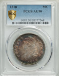 1810 50C AU50 PCGS. PCGS Population: (82/323 and 0/8+). NGC Census: (29/211 and 0/0+). CDN: $650 Whsle. Bid for problem-...
