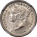 Canada: Victoria 5 Cents 1881-H MS65 NGC