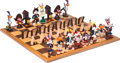 Animation Art:Maquette, The Looney Trails Limited Edition Chess Set #23/50 (Warner Brothers, 1993)....