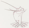 Animation Art:Production Drawing, Pocahontas Flit Animation Drawings S...