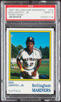 Baseball Cards:Singles (1970-Now), 1987 Bellingham Mariners Team Issue Ken Griffey, Jr. #15 PSA Mint 9....