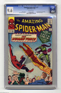 Silver Age (1956-1969):Superhero, The Amazing Spider-Man #17 (Marvel, 1964) CGC NM+ 9.6 Off-whitepages. The Green Goblin makes his second appearance in this ...