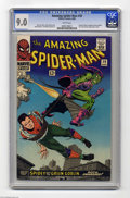 Silver Age (1956-1969):Superhero, Amazing Spider-Man, The #39 (Marvel, 1966) CGC VF/NM 9.0 White pages. When Spider-Man's co-creator Steve Ditko left this tit...
