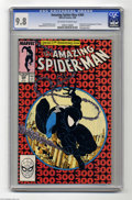 Modern Age (1980-Present):Superhero, Amazing Spider-Man, The #300 (Marvel, 1988) CGC NM/MT 9.8 Off-whiteto white pages. When all is said and done, this book cou...
