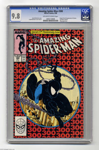 Amazing Spider-Man, The #300 (Marvel, 1988) CGC NM/MT 9.8 Off-white to white pages. When all is said and done, this book...